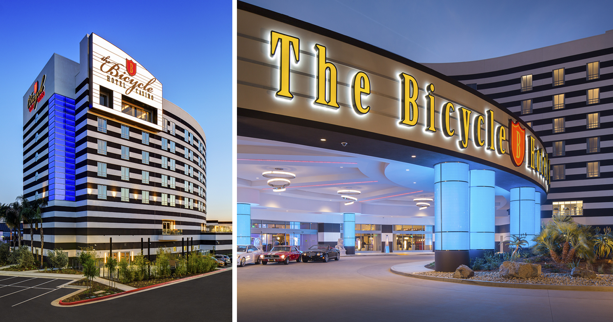 lee sakahara architects the bicycle casino hotel bell gardens ca united states